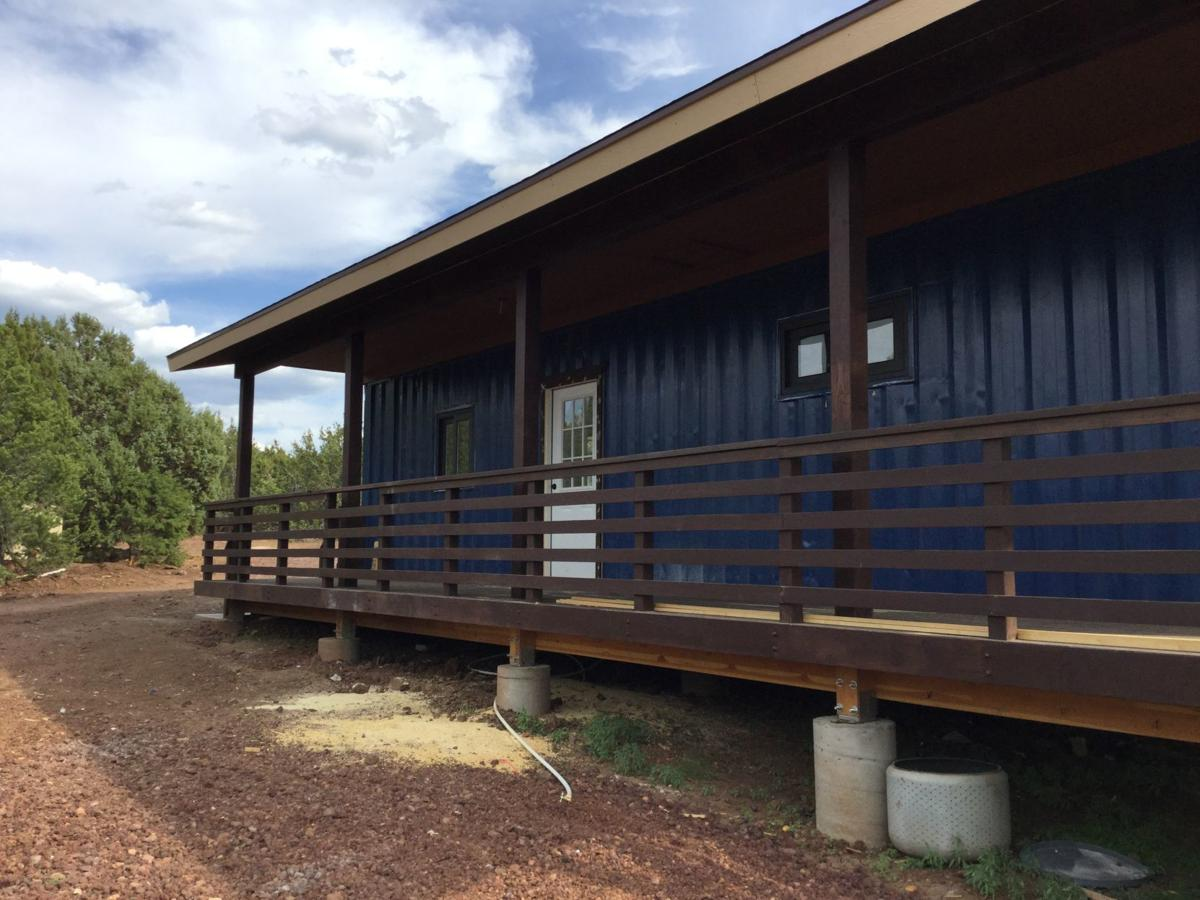 Container house kit exterior