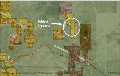 Walnut Creek Meadows development