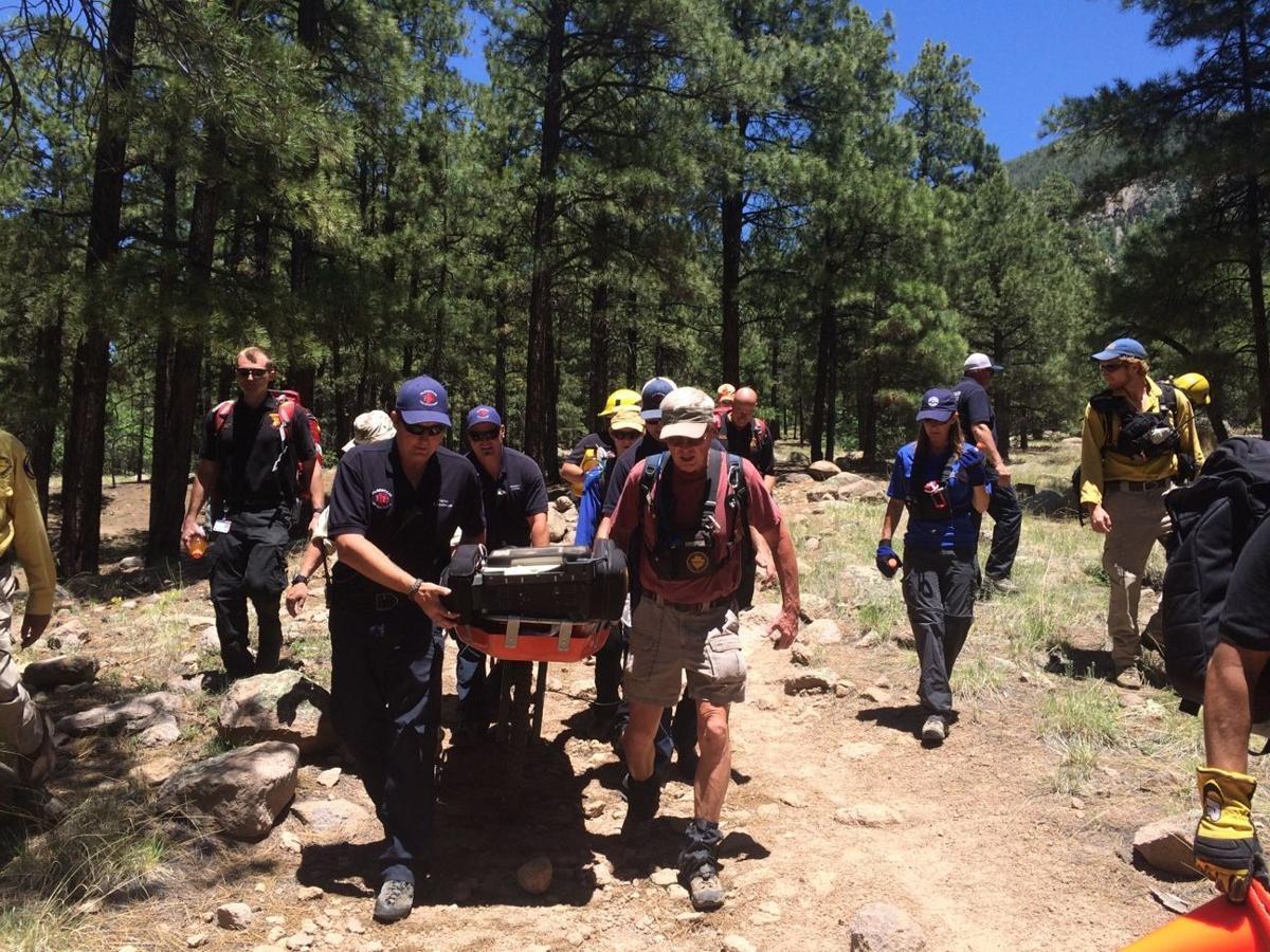 Mount Elden Rescue