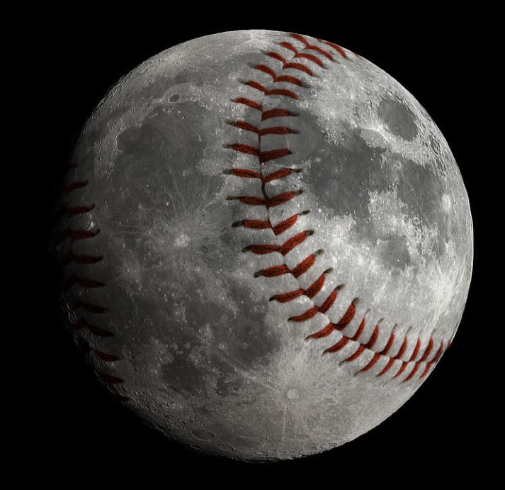 'Baseball' moon