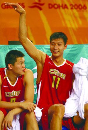 72ab79494 NBA s great leap forward  Yao to Yi.    FILE    China s Yi Jianlian ...