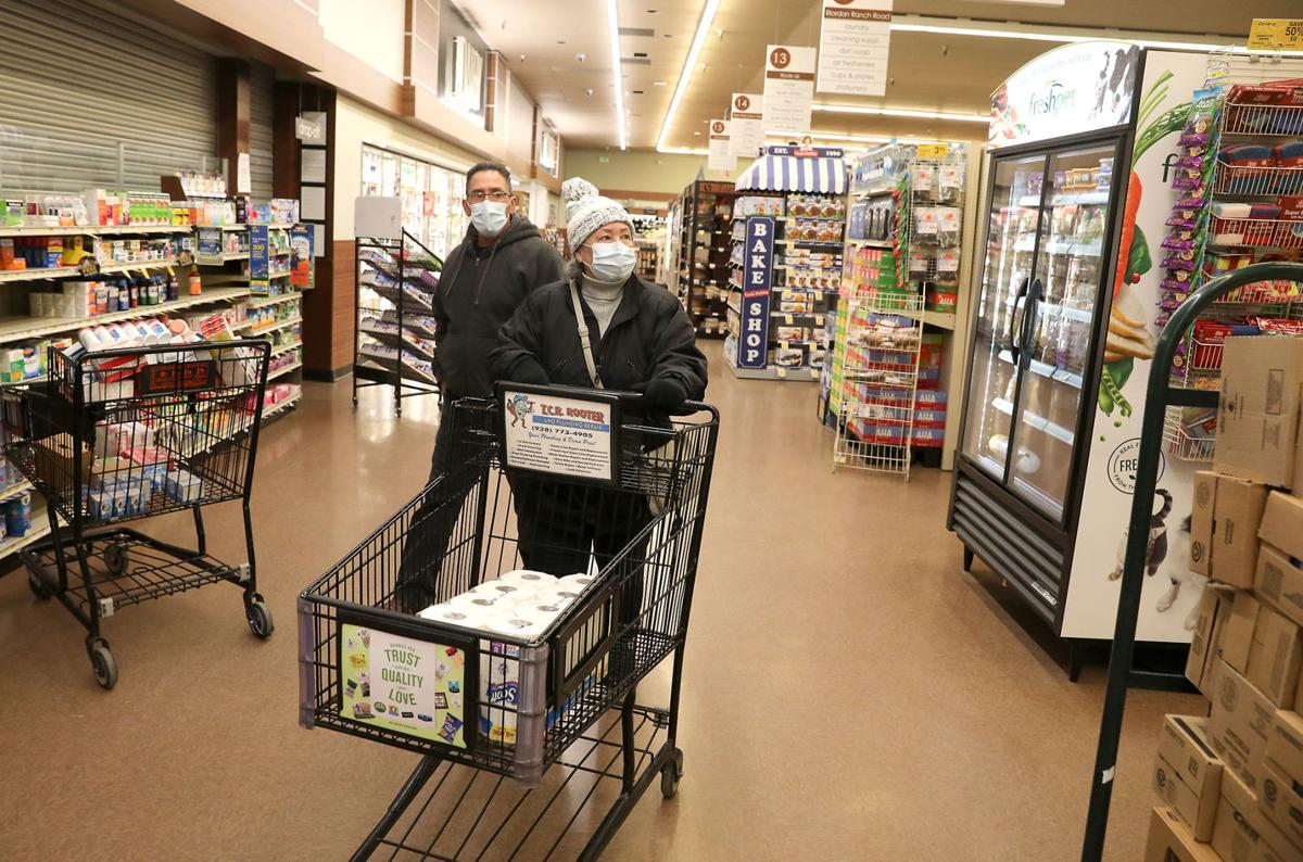 Arizona Grocery Stores Workers Adapting To New Normal Amid