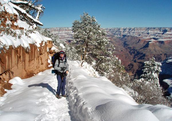 Grand Canyon In Winter Solitude Scenery And Snow News Azdailysun Com