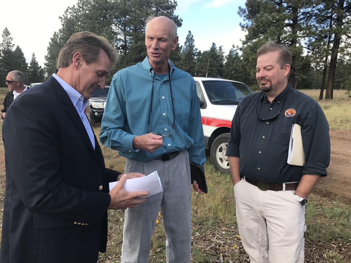 Flake visit to Flagstaff