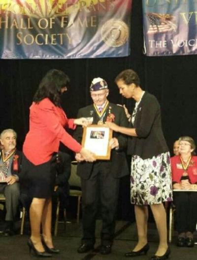 Billy Weldon Arizona Veterans Hall of Fame