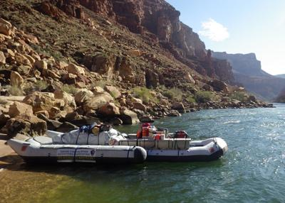 Battery powered Grand Canyon river runners