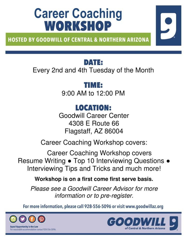 Career Coaching Flyer