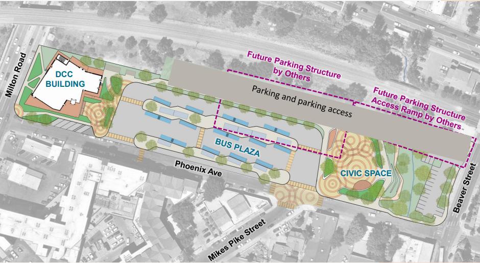 DCC site plan