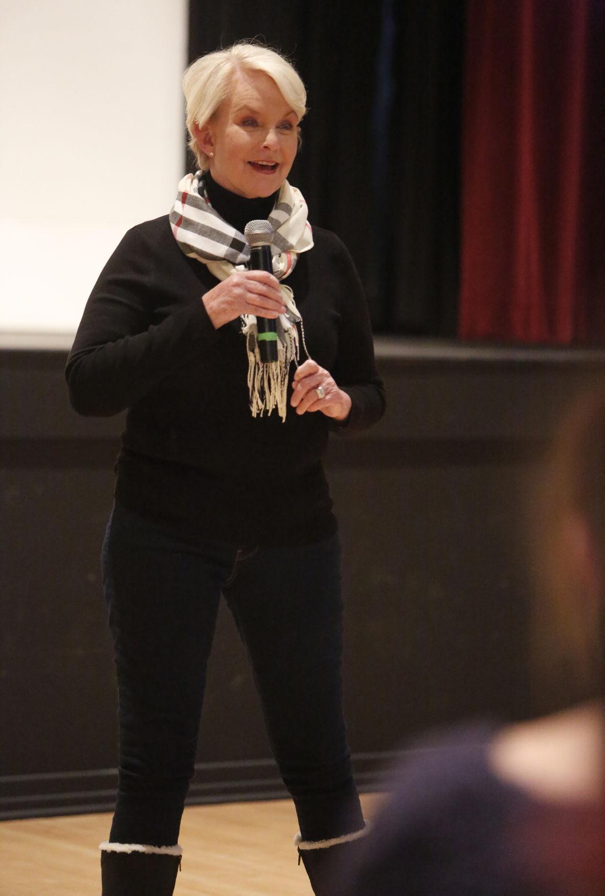 Cindy McCain: Human trafficking is here   Local   azdailysun com