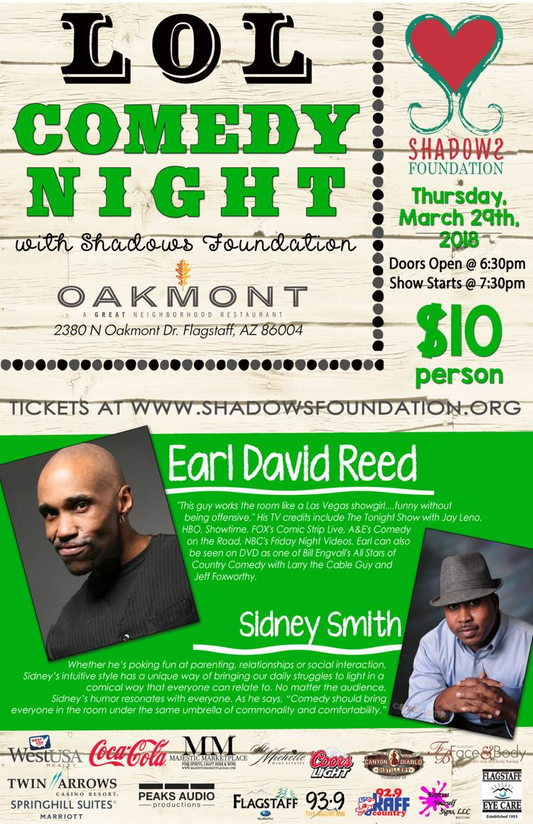 LOL Comedy Night with Shadows Foundation - March