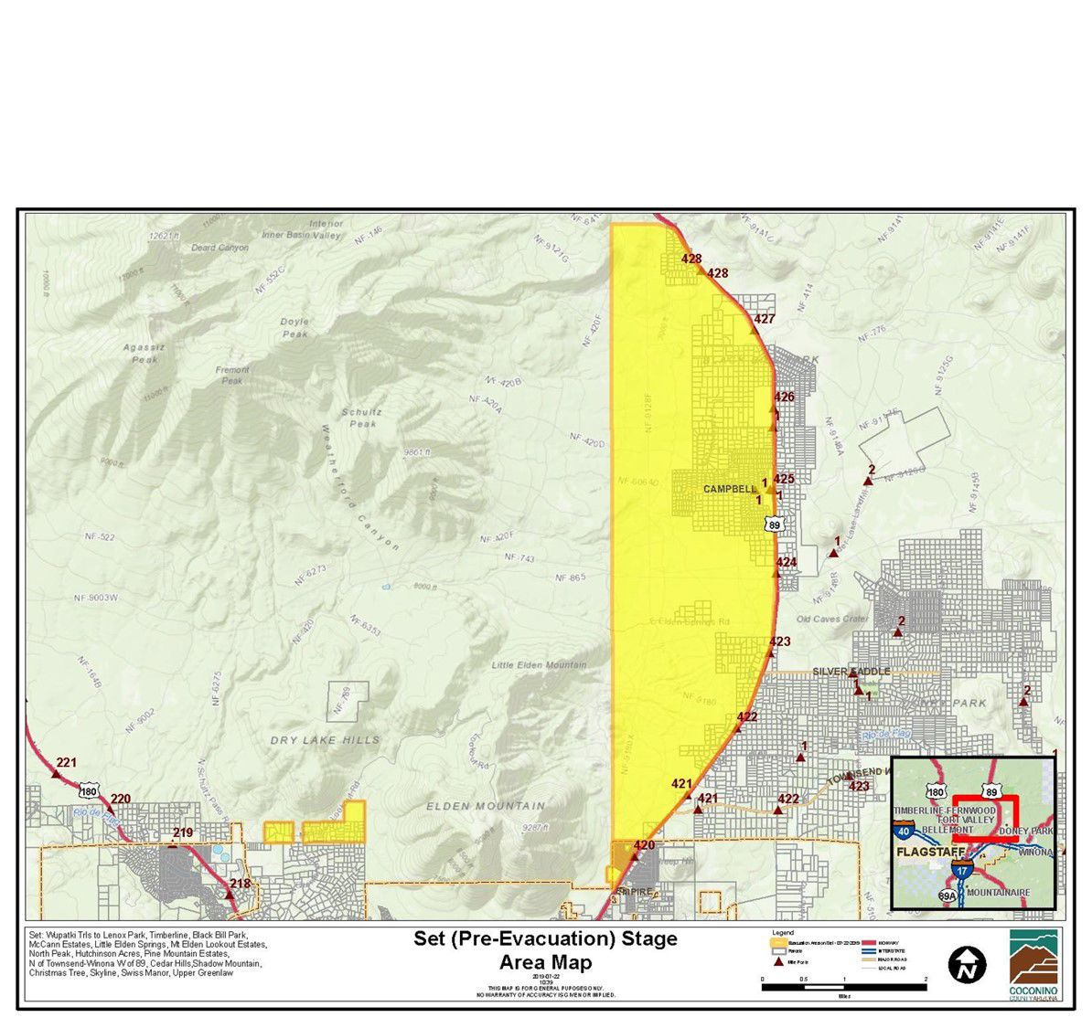 Monday timeline: County issues first evacuation notice ...