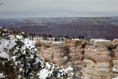 Mather Point in Winter