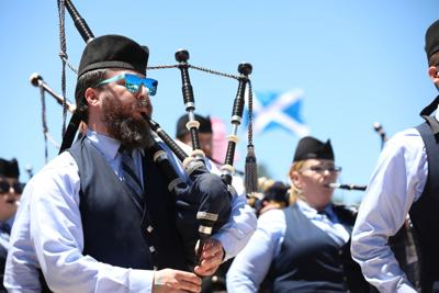 A Performance from the Pipe Major