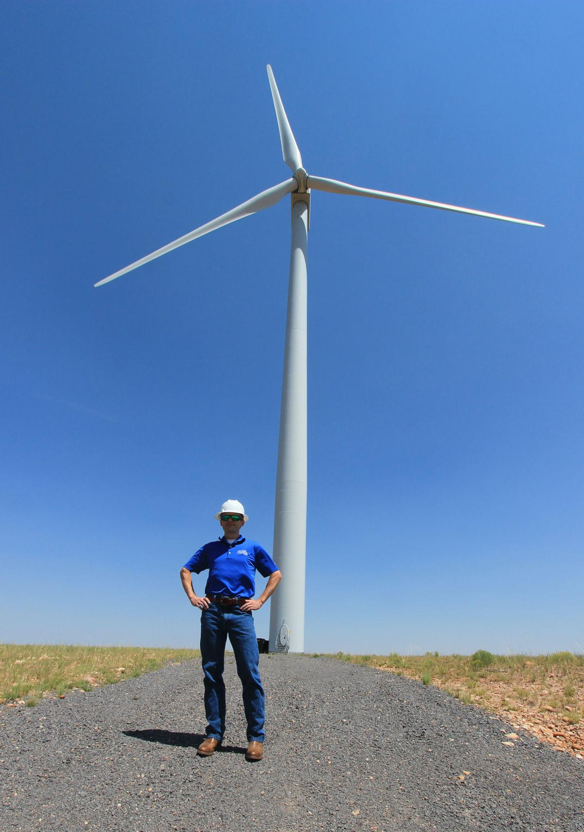 Wind Power Stagnates In Arizona Local Nextera Farm