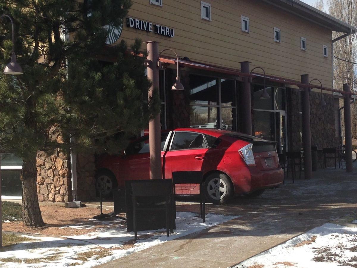 Starbucks Accident Flagstaff