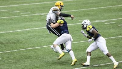 NAU Football's Harrison Beemiller