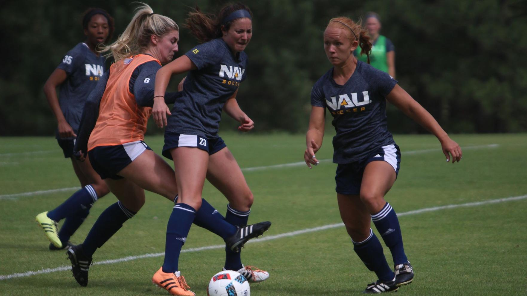 Picked second in the Big Sky, NAU women's soccer opens season Friday