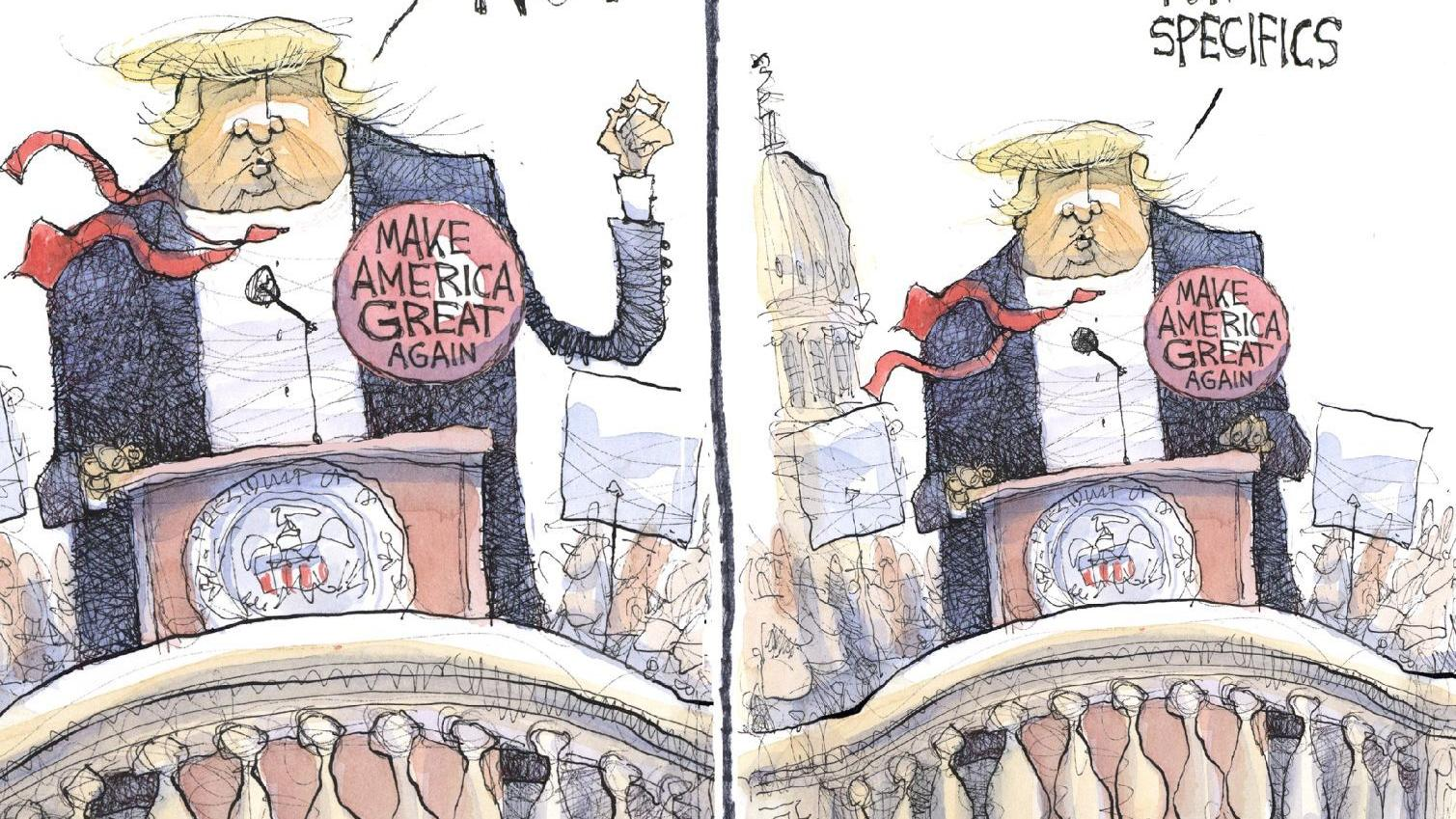 Year of plenty for editorial cartoonists