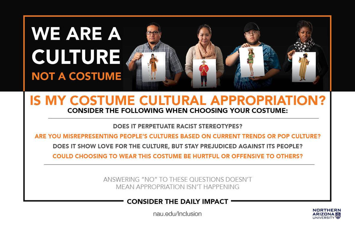 NAU suggestions to check your costume