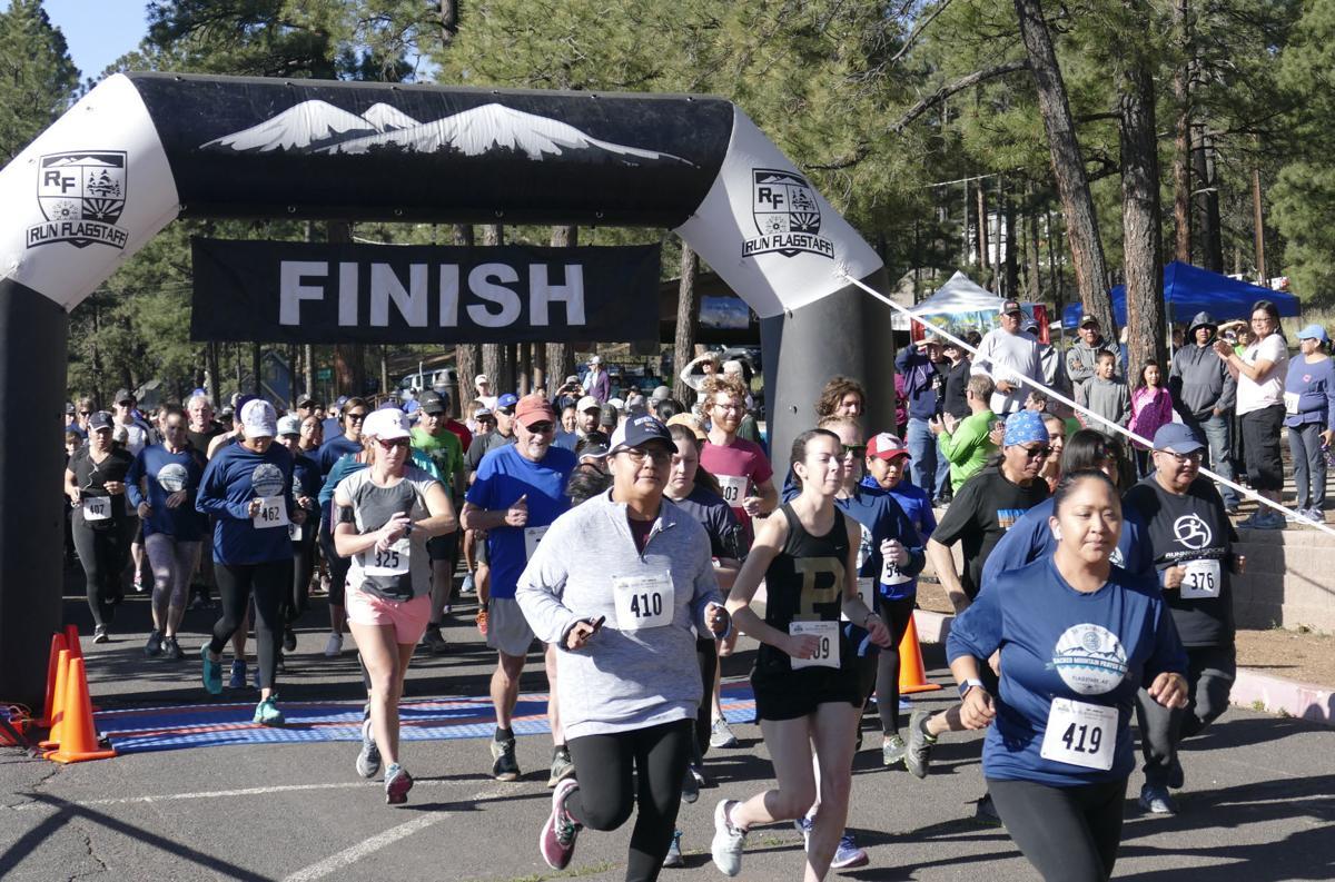 Sacred Mountain Prayer Run 5K in 2014