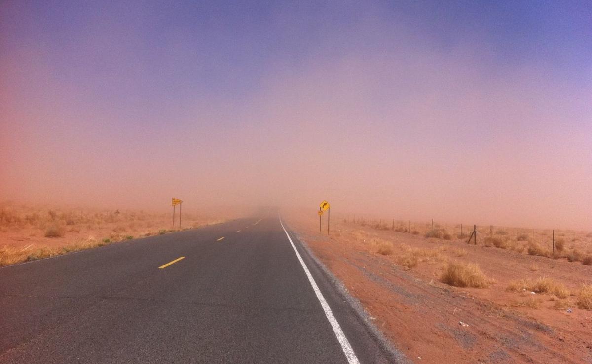 Winslow dust storm