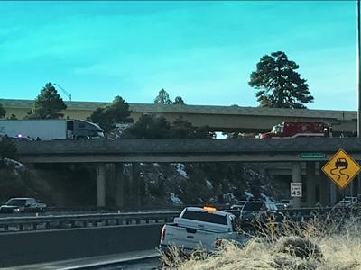 Death on westbound I-40