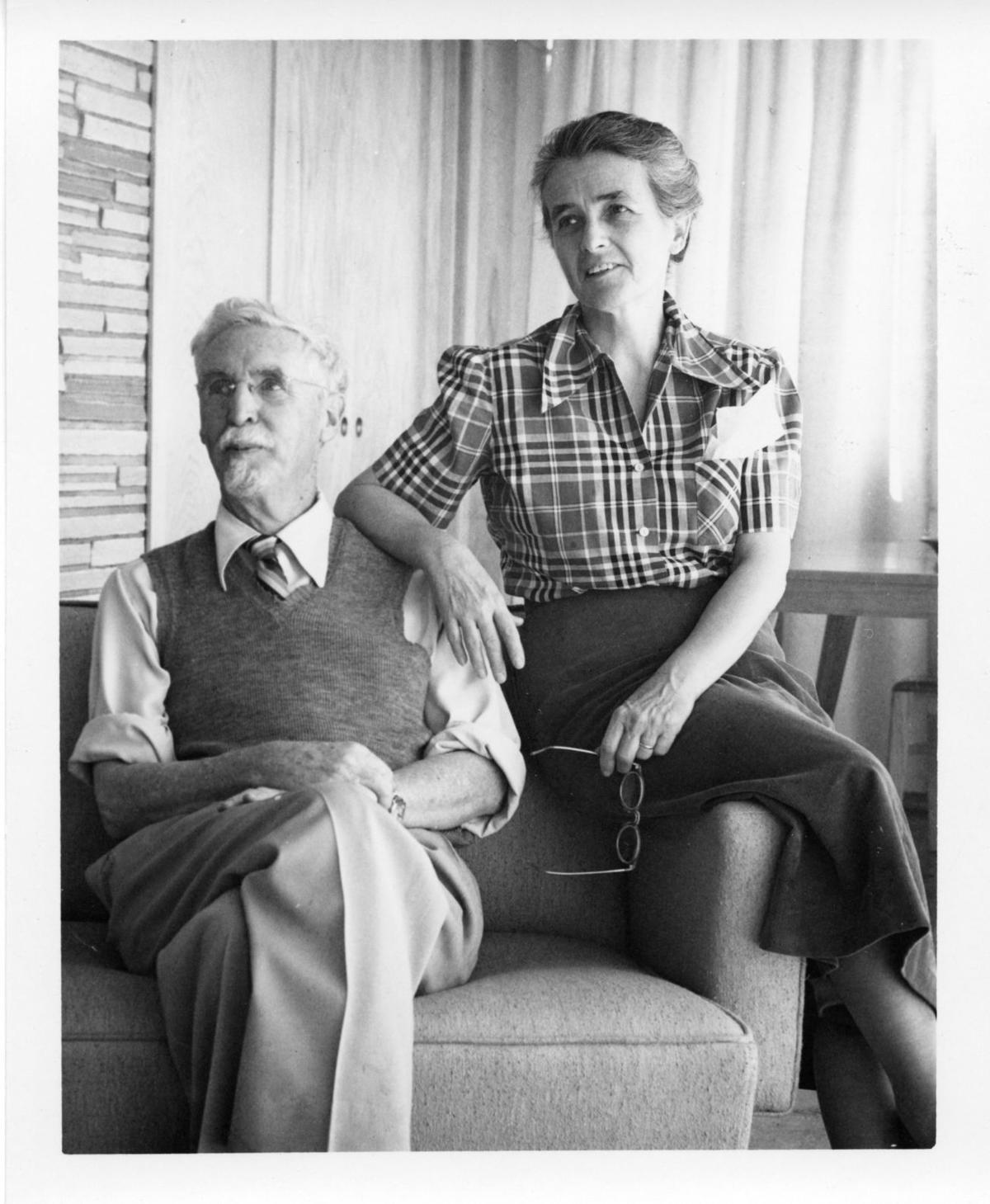 Dr. Harold S. and Mary-Russell Ferrell Colton founded MNA in 1928.tif
