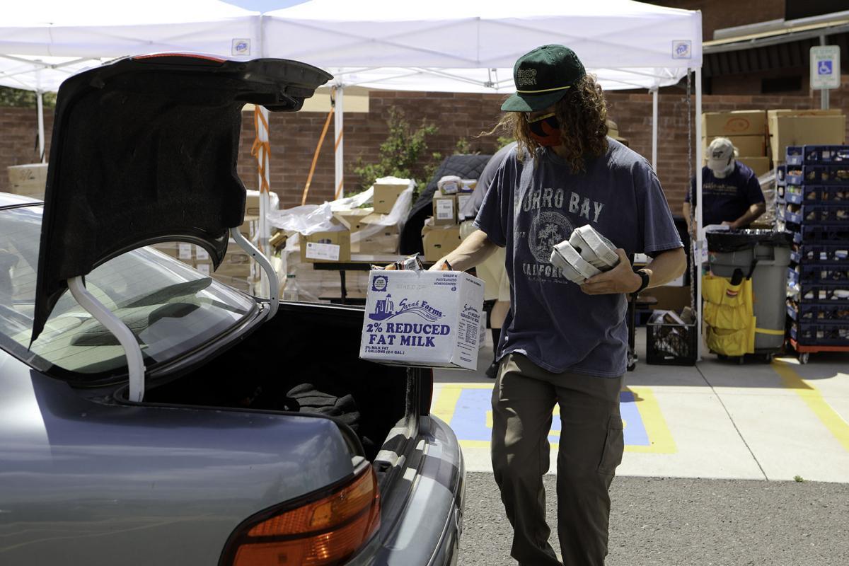 Flagstaff Family Food Pickup at Cromer Elementary