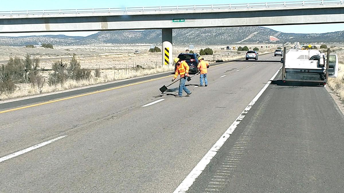 I-40 pavement repair