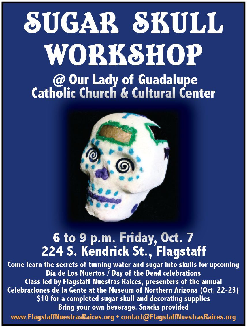 Flagstaff Nuestras Raíces to present sugar skull-making workshop on Oct. 7