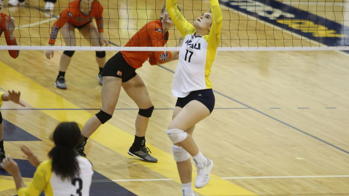 Short-handed NAU falls in 5 sets to Idaho State, opens conference on loss | Local | azdailysun.com