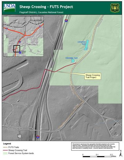 City of Flagstaff pushes for new FUTS trail beneath I-17 to Fort Tuthill