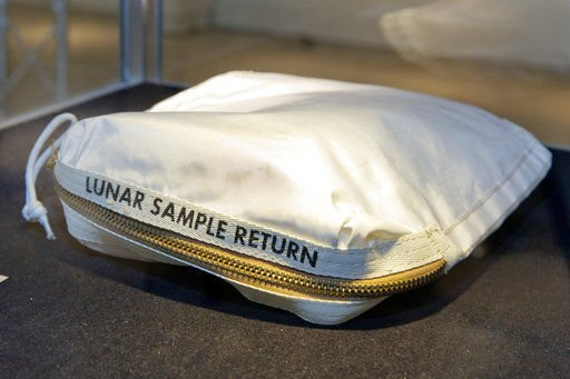 Bag laced with moon dust sells for $1.8 million