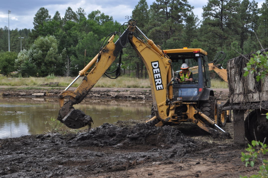 Frances Short Pond restoration work