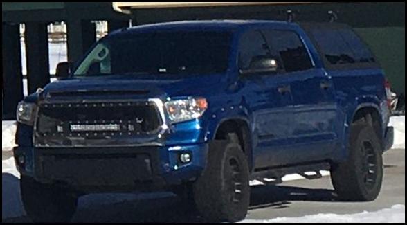 William Morrison's truck, also missing