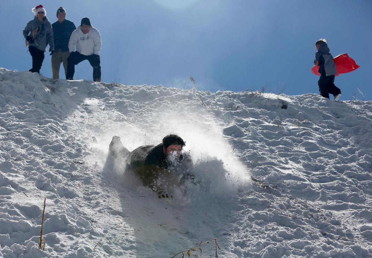 Human Snow Plow