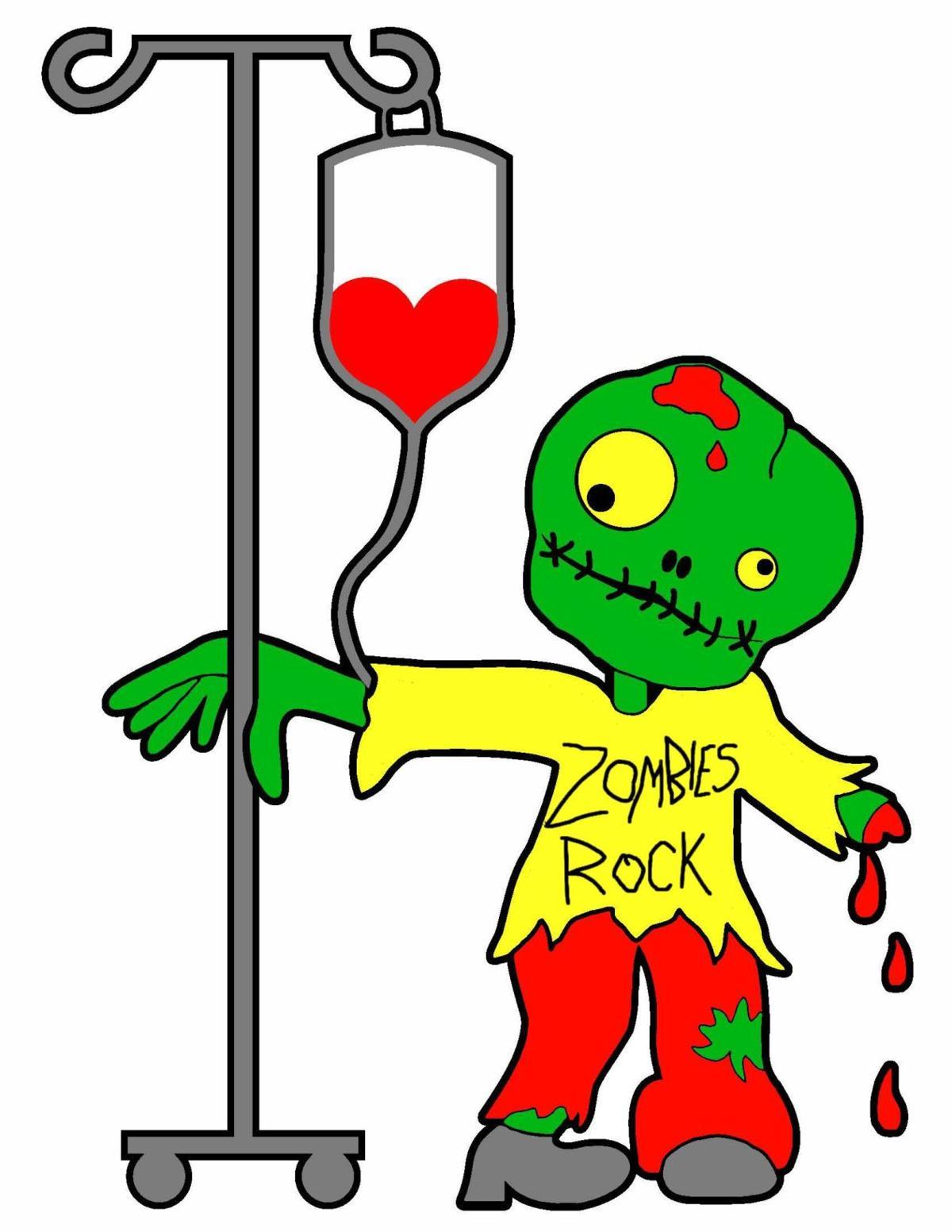 Zeke the donating Zombie