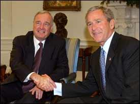 Poll: Deep anti-Bush sentiment in Canada