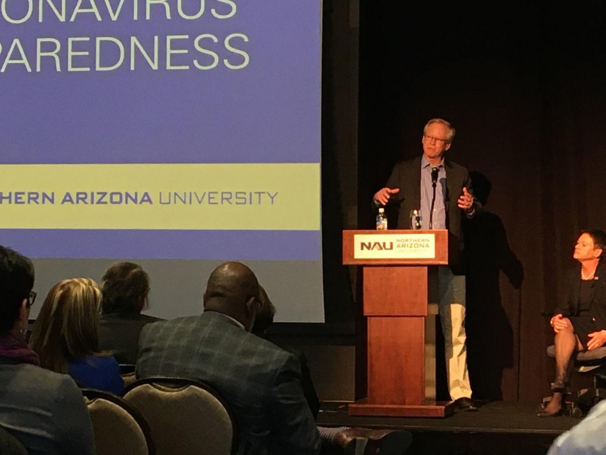 Paul Keim coronavirus presentation