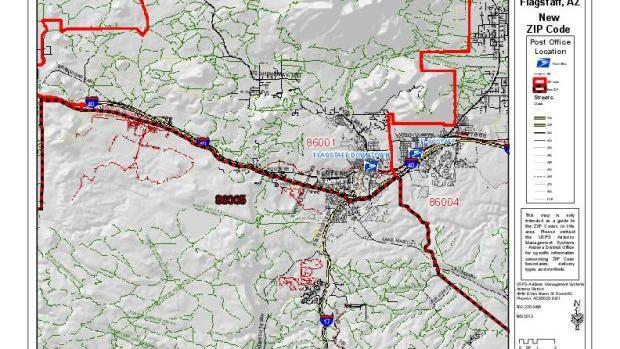 New Zip Code For Flagstaff Begins July 1 Local Azdailysun Com