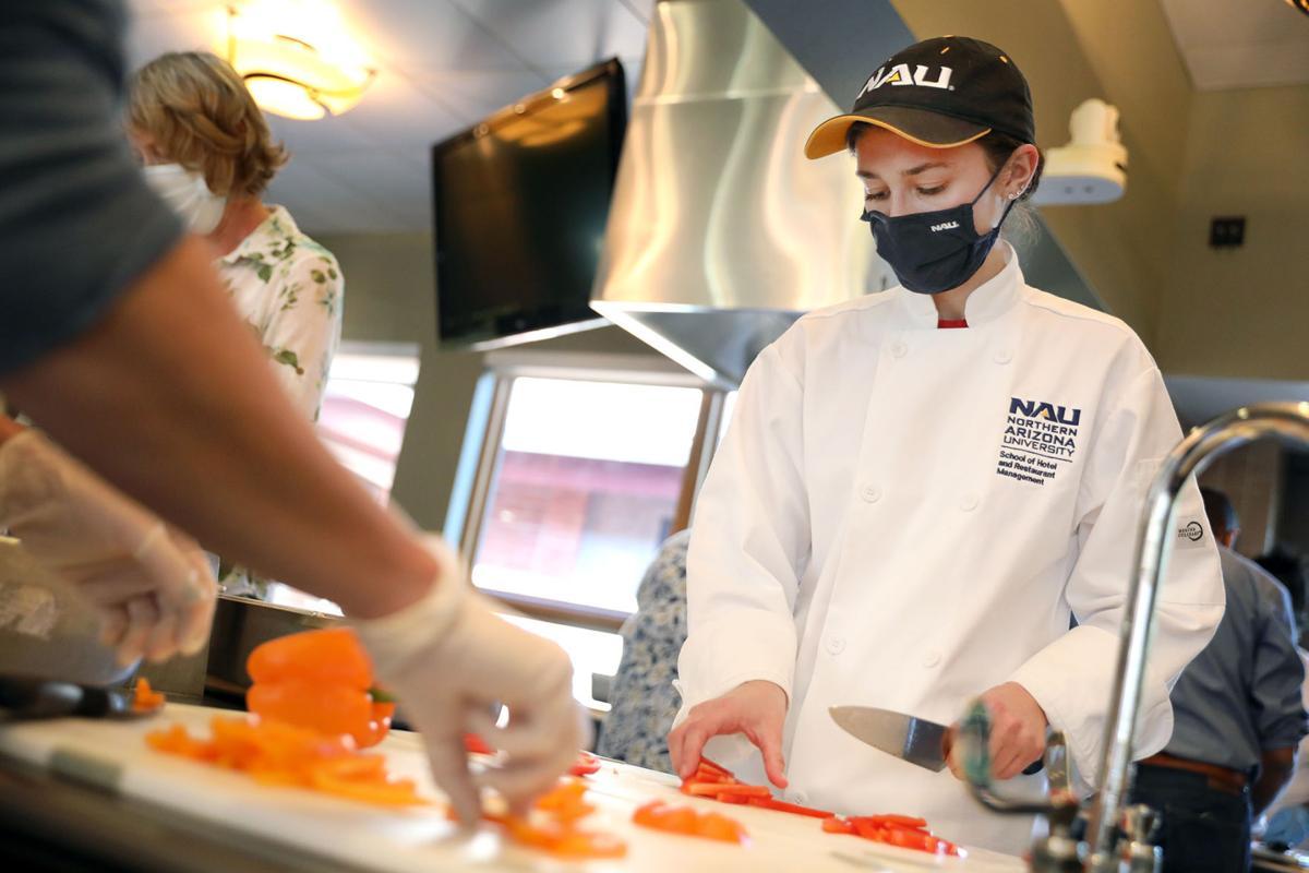 NAU Students Help Community Kitchen