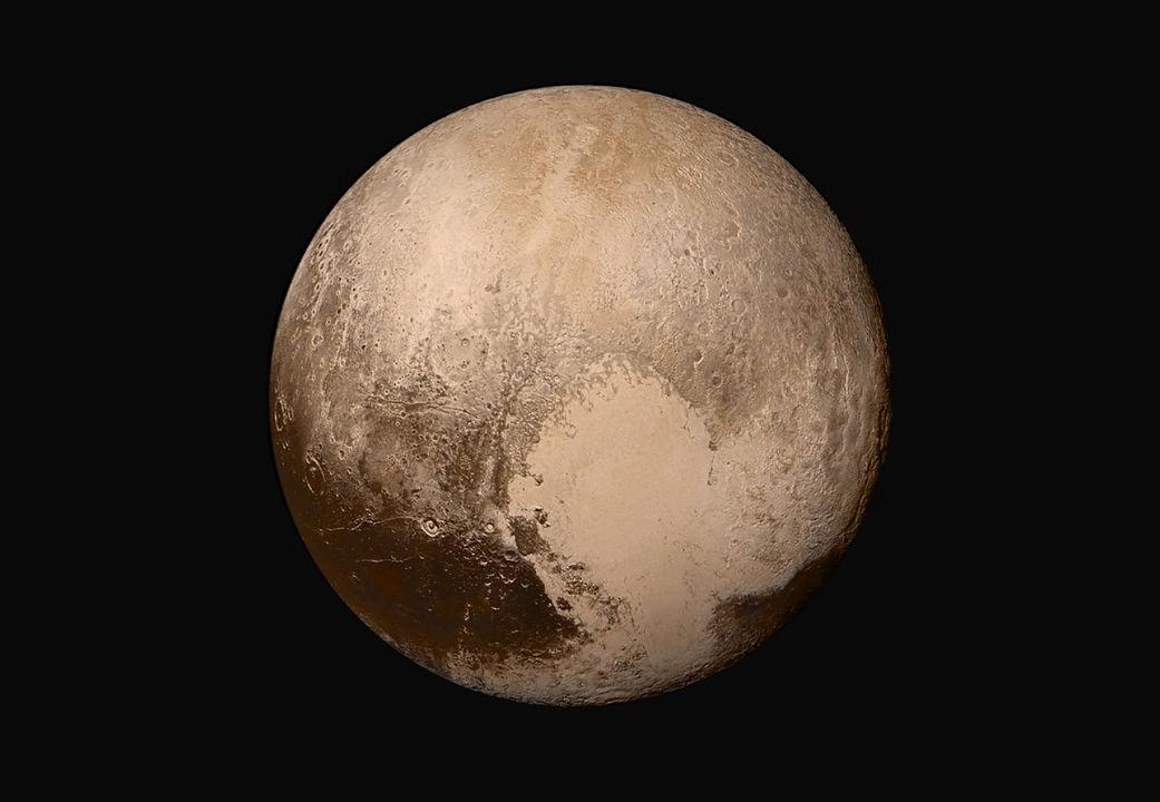 Pluto Tombaugh Regio  New Horizons