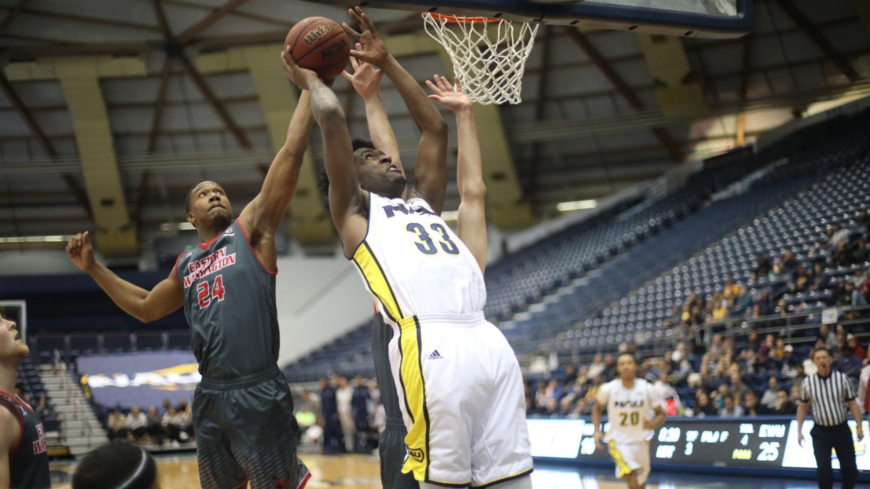 Offensive woes stall NAU men's hoops in home loss to EWU