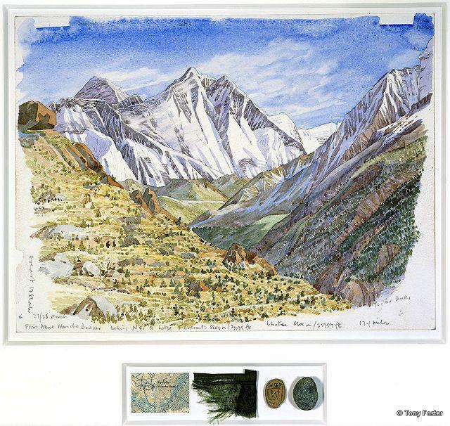 Tony Foster From Above Namche Bazaar Looking NE to Nuptse, Everest, Lhotse (2).jpg