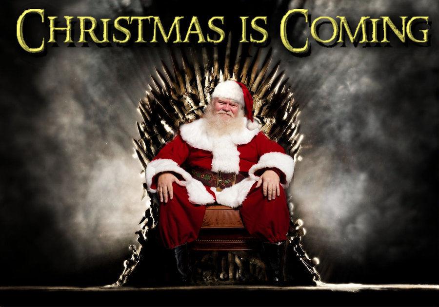 Santa and the Iron Throne!