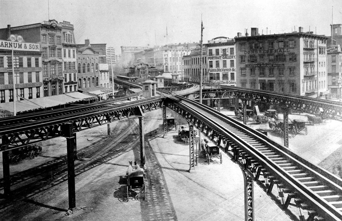 Third Avenue Line El 1878