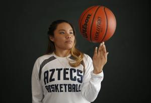 Former Panthers hoops star Nakai reaching new heights