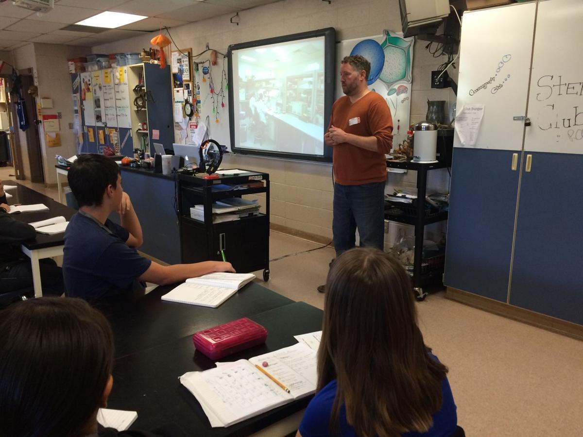 Classroom scientist