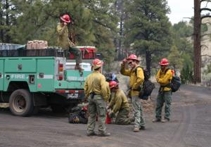 Volcanic soil, old artillery shells challenge crews managing the Maroon Fire
