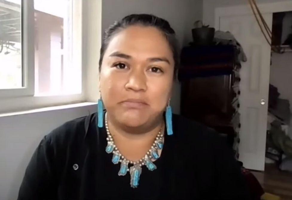 Nikki Cooley speaks to Flagstaff